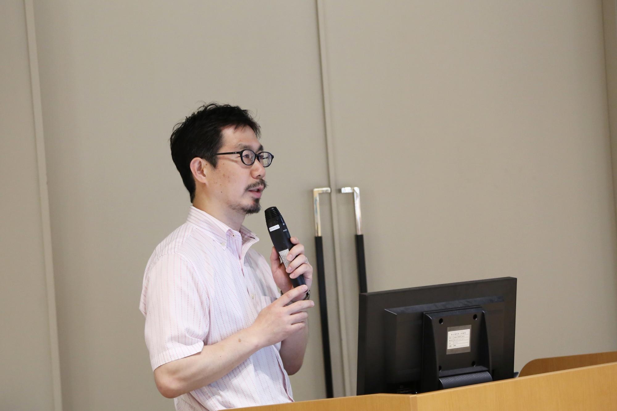 高倉浩樹(東北大学東北アジア研究センター教授) photo:當麻妙
